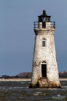 Cockspur Island Lighthouse, Savannah River, Georgia by Dawna Moore Lighthouse Lighting, Lighthouse Painting, Lighthouse Pictures, Beacon Of Light, Am Meer, Savannah Chat, Savannah Georgia, Architecture, Beautiful Places