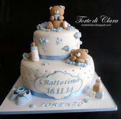 torte da battesimo bimbo - Cerca con Google