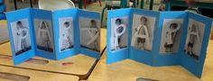 Une idée trouvée avec Pinterest, vite mise en oeuvre Les photos sont simplement imprimées avec la photocopieuse de l'école, puis plastifiées. Les petits ont joué un moment avec les photos pour...