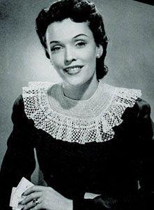 Crocheted Collar Pattern | Crochet Patterns