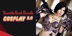 More awesome ebooks for you. We've teamed up with costume crafting experts for our newest bundle! Get titles like The Book of Cosplay Sewing, Foamsmith Ebooks, Wonder Woman, Cosplay, Superhero, Lifestyle, Women, Wonder Women, Woman