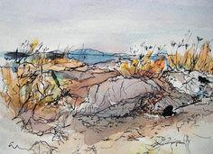 Sketchbook Wandering: Seaside Sketching