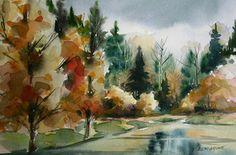 Watercolours - Frances Alty-Arscott
