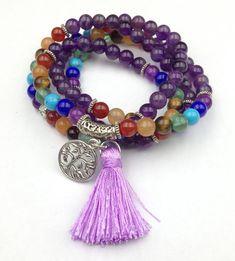 Mantra Perle Élastique Bracelet rouge chinoise Organic cinabre bouddhisme amulette Hot