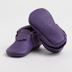 Huckleberry - Limited Edition Moccasins from Freshly Picked #moccasins #babyshoes