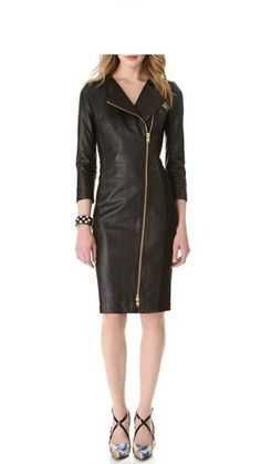 Buy this beautiful Leather dress by Hides & Fur