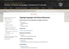 Are you learning or teaching #Tagalog? Check out the open educational resources compiled by the Autonomous Language Learning Network (ALLNet) in the DWLLC! http://clas.uiowa.edu/dwllc/node/813  For more information about ALLNet, please visit our website: http://clas.uiowa.edu/dwllc/allnet