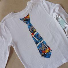 Holy Tie Shirt Batman Shirt / Onesie by ThisPretty on Etsy, $19.95