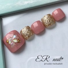 Pretty Toe Nails, Cute Toe Nails, Pretty Toes, Toe Nail Art, Nail Art Designs Videos, Creative Nail Designs, Pedicure Designs, Toe Nail Designs, Feet Nail Design