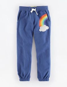 Appliqué Sweatpants 32581 Sweatpants & Leggings at Boden- C