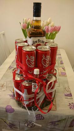 Jim jeam Torte Geschenkidee für jim beam Liebhaber