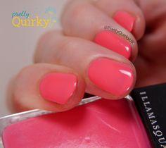 Devotee by Illamasqua - bubble gum pink nail polish. Cute!