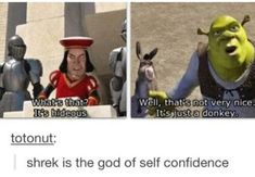 32 Hilarious Shrek Memes - We share because we care. A resource for sharing the latest memes, jokes and real stuff about parenting, relationships, food, and recipes Funny Black Memes, Funny Relatable Memes, Funny Posts, Funny Quotes, Funniest Memes, Hilarious Memes, Funny Pranks, Funny Tweets, Memes Humor