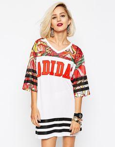 Image 1 ofadidas Originals X Rita Ora Dragon Dress