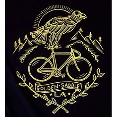 "Gefällt 625 Mal, 9 Kommentare - Kyler Martz (@kylermartz) auf Instagram: ""Here's an eagle on a bicycle that I drew for @goldensaddlecyclery . They rule, and in you were…"""