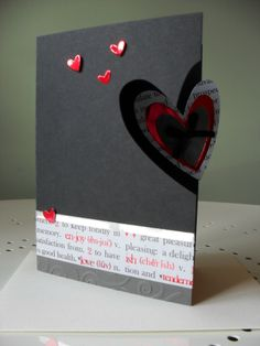 Classy Valentine card.