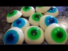 HazloTuyo: Receta de ojos de gominola /chuchería/golosina para halloween - YouTube
