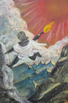 5th Grade Greek Mythology: Prometheus Bring Fire to Mankind