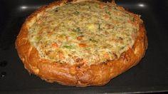 Dit recept voor gevuld Turks brood is overheerlijk en supersnel klaar