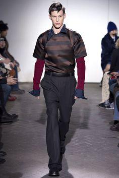 Raf Simons Fall 2013 Menswear Fashion Show