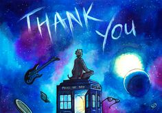 I'm going to miss Twelve. [[MORE]][Image: watercolor painting mainly in blue tones. The Twelfth Doctor is sitting on top of the TARDIS next to the lamp, turning his back to the viewer. The TARDIS is in space, which is purple, deep blue and bright. Jack Jack Attack, Jack And Jack, 13th Doctor, Twelfth Doctor, Doctor Who Art, Hello Sweetie, Peter Capaldi, Fan Art, Geronimo