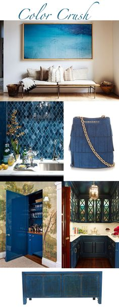 SHELTER: May - Color Crush - Marine blue..
