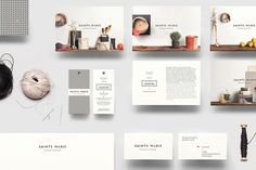 Beautiful Brand Identity Design Textile By La Mamzelle & Co - Sai...