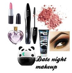 Date night makeup by nkasal36912 on Polyvore featuring polyvore beauty Lancôme Tony Moly Vera Wang