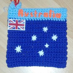 Australia from Heather M. To learn more about our organization go to www.knit-a-square.com To meet our members and see more of our knitting and crochet go to http://forum.knit-a-square.com/