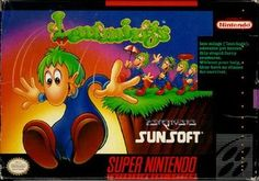 Super Nintendo - Lemmings