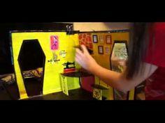 Кристина Винчестер Видео на конкурс для канала MGM дом книжка - YouTube