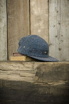 Obey Journey 5-Panel Cap - Navy Multi - The Priory