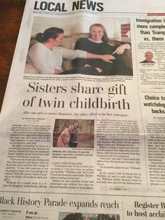 Surrogate Maternity News Interview with KTLA 5 Newborn Photography Studio, Newborn Photographer, Newborn Baby Photos, Local News, Fertility, Twins, Pregnancy, Cancer, Interview