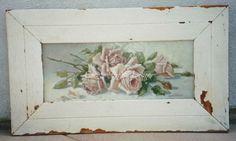 """Original """"Pink Cabbage Roses"""" C.Repasy"""