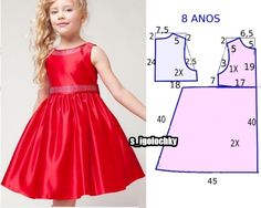7 Patterns For Dress Sewing ( Dresses Fo - Diy Crafts Princess Dress Patterns, Baby Girl Dress Patterns, Sewing Patterns Girls, Children's Dress Patterns, Coat Patterns, Girls Dresses Sewing, Little Girl Dresses, Sewing Clothes, Barbie Clothes