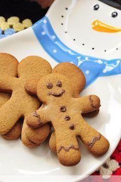 Gingerbread Cinnamon New Year Cookie - Kitchen Secrets - . - I nutellali_zencefilli_kurabiye_ada New Years Cookies, Tasty, Yummy Food, Food Platters, Arabic Food, Perfect Food, Italian Recipes, Italian Foods, Sugar Cookies