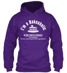 LIMITED BAKEAHOLIC HOODIE - 7 DAYS | Teespring