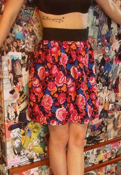 Handmade skirt & tattoo