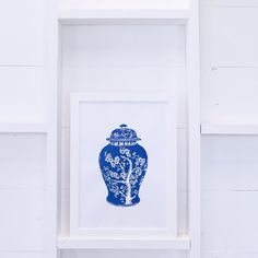 Chinese Tree Urn by Tracey Fletcher King | Limited Edition Print for The Arthouse Collective
