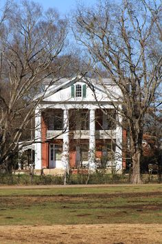 Alfred Hatch Place at Arcola Plantation in Arcola in Hale County, Alabama. Old Southern Homes, Southern Plantation Homes, Southern Mansions, Southern Style, Plantation Houses, Southern Living, Simply Southern, Old Mansions, Abandoned Mansions