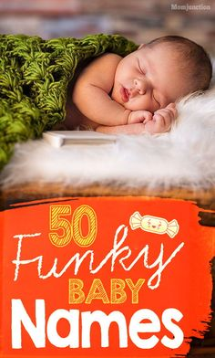 Do you want to name your newborn with a funky name? Here we've a list of unusual and funky baby names that are quite easy to spell and pronounce. Baby Girl Names, Boy Names, Boy Or Girl, Pretty Names, Kids Fever, Unique Baby Names, Before Baby, Baby Health, Mom And Baby