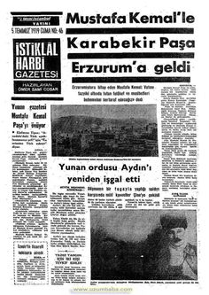 istiklal harbi gazetesi 5 temmuz 1919