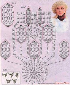 "Take crochet pattern ""bumps"" Crochet Bikini Pattern, Crochet Cap, Crochet Beanie, Crochet Stitches Patterns, Stitch Patterns, Sewing Patterns, Yarn Projects, Crochet Projects, Knitted Headband"