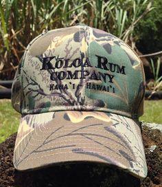 Koloa Rum Camo Hats