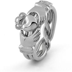 I have always wanted a puzzle ring and a claddagh ring.