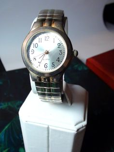 Classic Black Numbers Wrist Watch 1980s por VINTAGEARTJEWELRY, $14.00