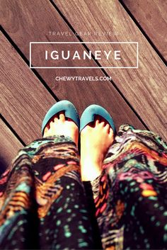 Iguaneye shoes review - I bought these as an alternative to flip flops, and I've been wearing them pretty much every day for the last 2 months!