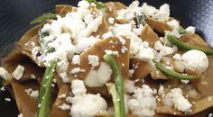 Chilaquiles de Frijol #receta
