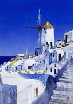 Greece ~ Old Santorini by Stanley Doctor