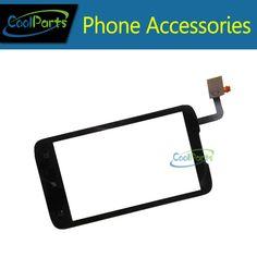 Teléfono celular de pantalla táctil del panel táctil digitalizador de alta calidad para lenovo a316i color negro 1 pc/lot